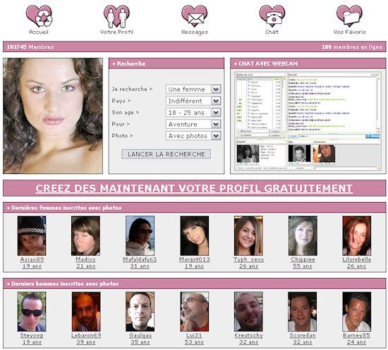 visio libertin site de célibataire gratuit